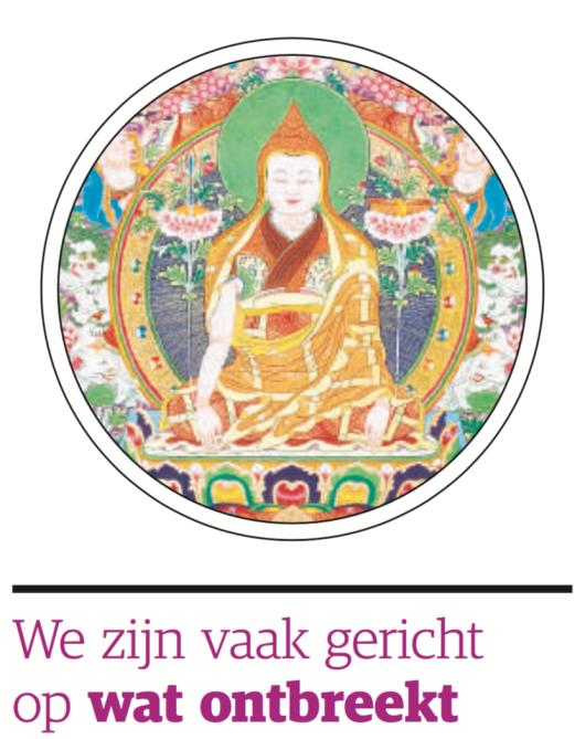'Je hoeft niet mediterend op een berg te gaan zitten' - (nrc.next)